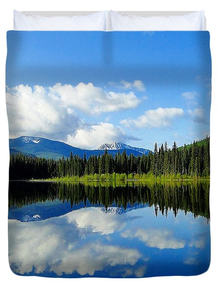 Reflections Of Nature Duvet Cover