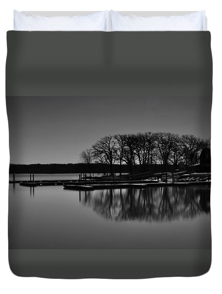 Reflections Of Water Duvet Cover
