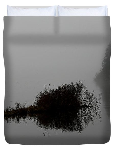 Reflections On A Lake Duvet Cover