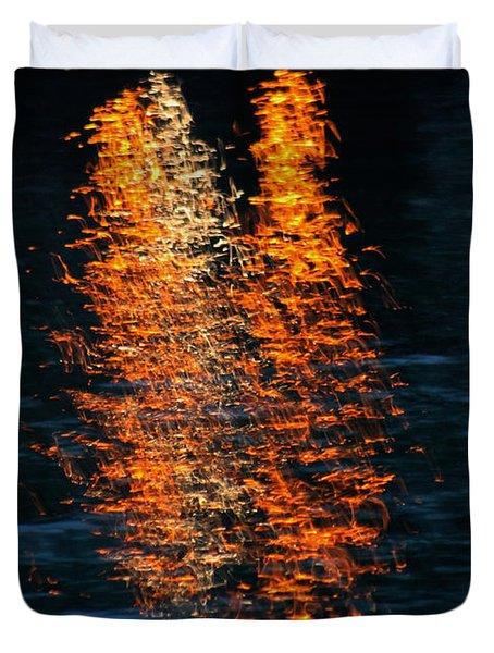 Reflections Duvet Cover by Pamela Walton