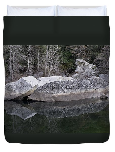 Reflections Duvet Cover by Priya Ghose