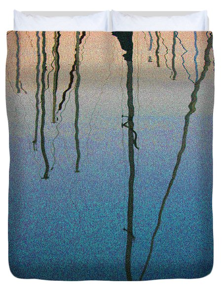 Reflections Duvet Cover by Robin Lewis