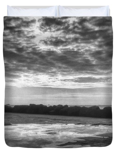 Reflections Duvet Cover by Taylan Apukovska