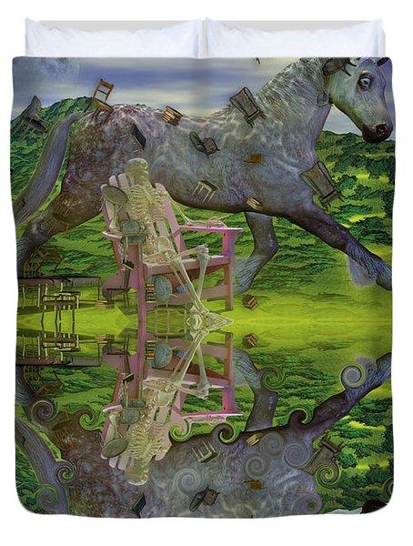 Reflective Oz Duvet Cover