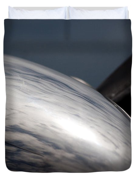 Reflective Power Duvet Cover by Paul Job