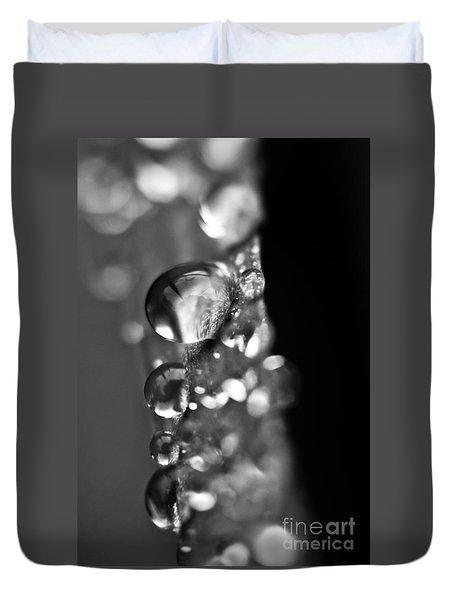 Reflective Rain Duvet Cover