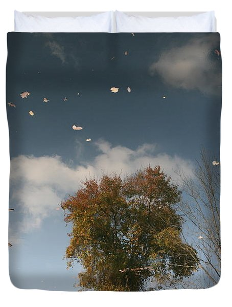 Reflective Thoughts  Duvet Cover by Neal Eslinger
