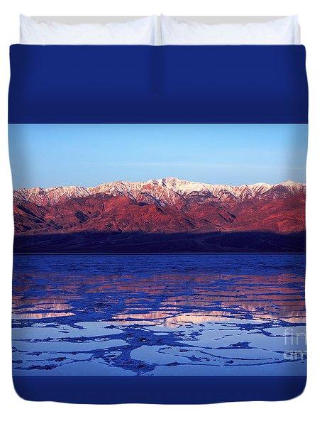 Reflex Of Bad Water Duvet Cover