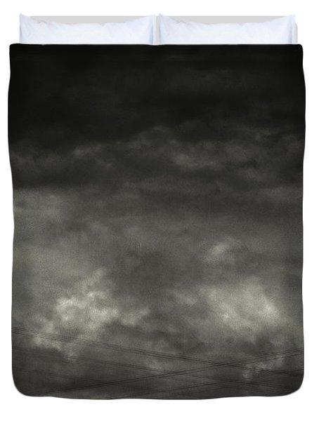 Refraction Duvet Cover by Taylan Apukovska