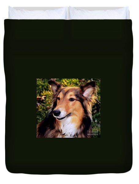Regal Shelter Dog Duvet Cover