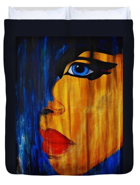 Reign Over Me 3 Duvet Cover by Michael Cross