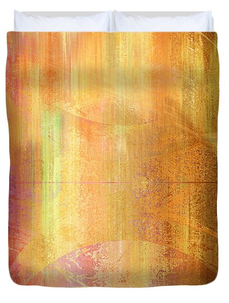 Reigning Light - Abstract Art Duvet Cover