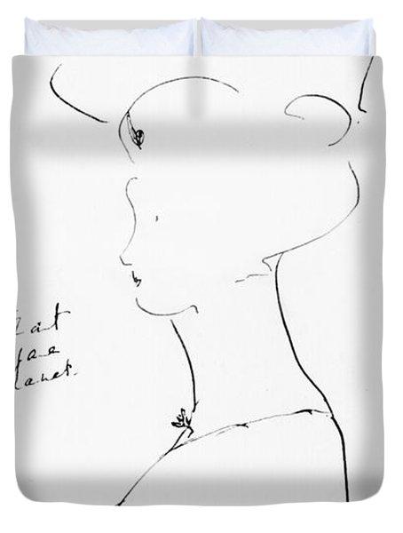 Rejane Duvet Cover by Marcel Proust