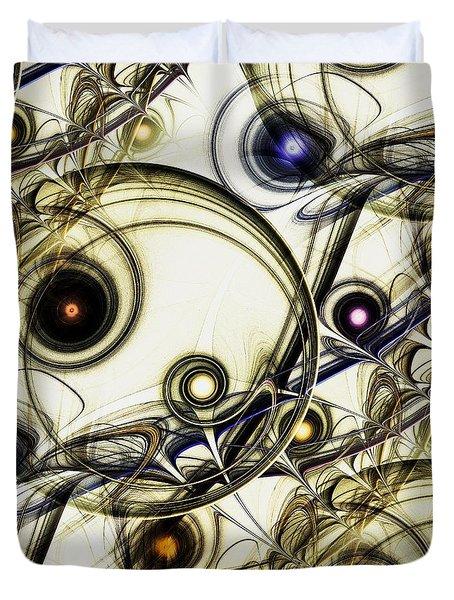 Rejuvenation Duvet Cover by Anastasiya Malakhova