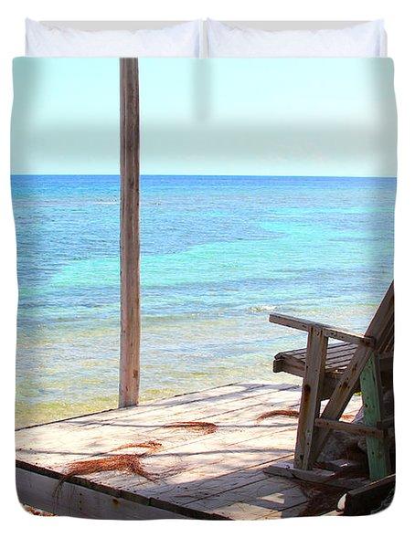 Relax Porch Duvet Cover