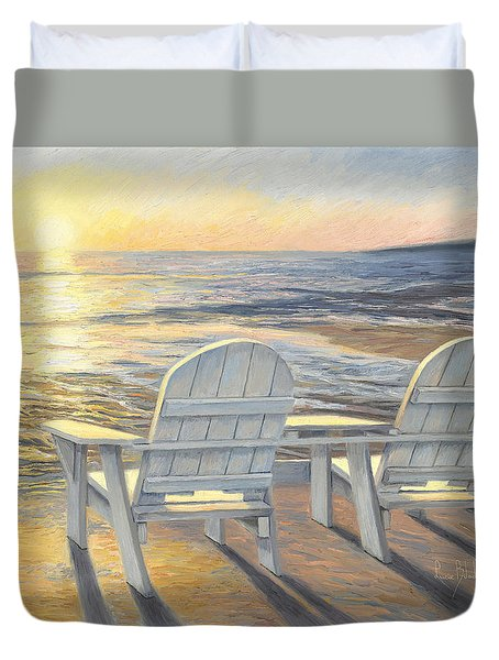 Relaxing Sunset Duvet Cover