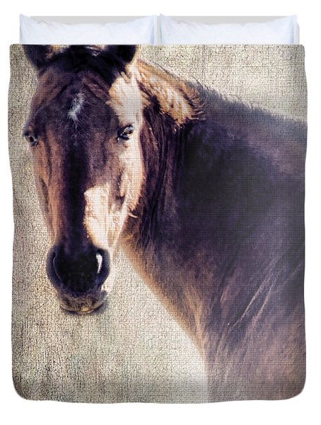 Reliability Duvet Cover by Betty LaRue