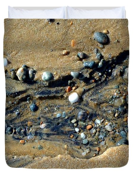 Duvet Cover featuring the photograph Remants by Christiane Hellner-OBrien