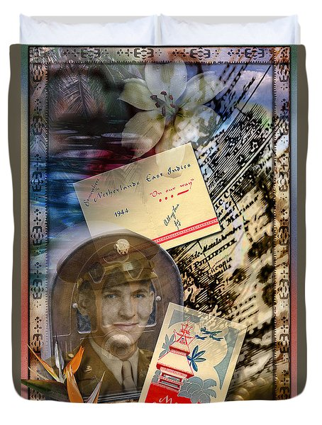 Remembering Joe Duvet Cover