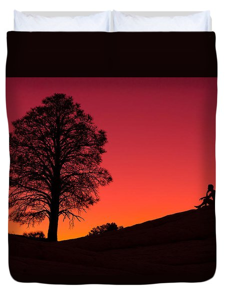 Reminiscing Duvet Cover by Chad Dutson
