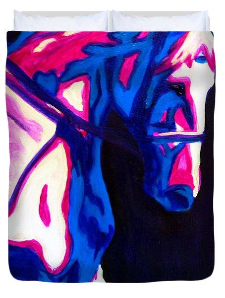 Renaissance Horse Duvet Cover