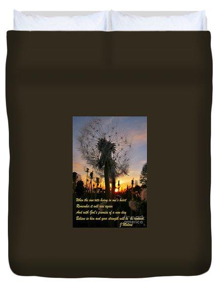 Renewal Duvet Cover by John Malone