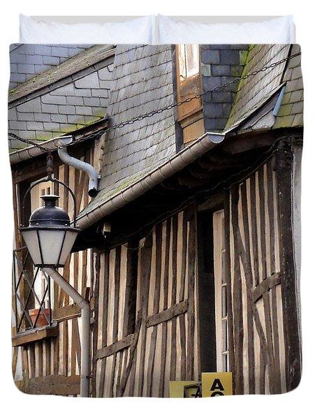 Rennes France Duvet Cover