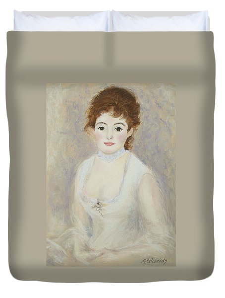 Renoir's Lady Duvet Cover