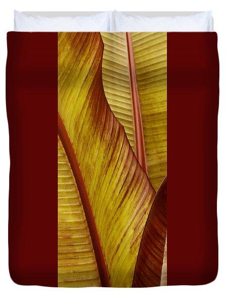 Repose - Leaf Duvet Cover by Ben and Raisa Gertsberg