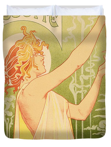 Reproduction Of A Poster Advertising 'robette Absinthe' Duvet Cover