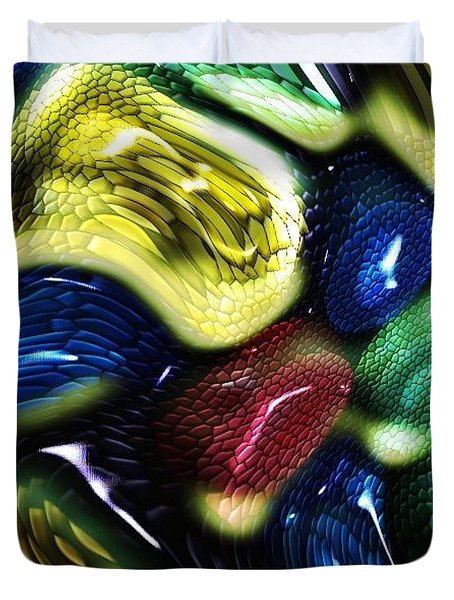 Reptile House Duvet Cover
