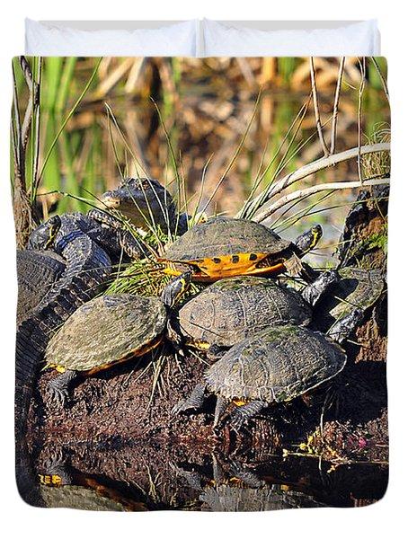 Reptile Refuge Duvet Cover