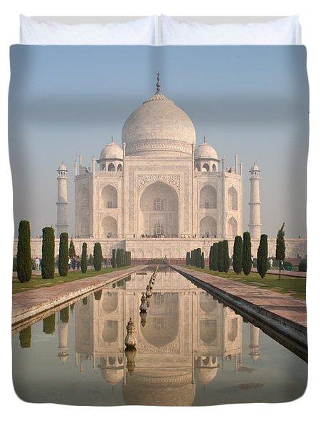 Resplendent Taj Mahal Duvet Cover