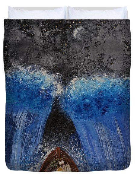 Rest In Him Duvet Cover by Cassie Sears