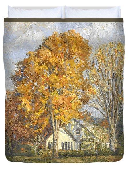 Restful Autumn Duvet Cover