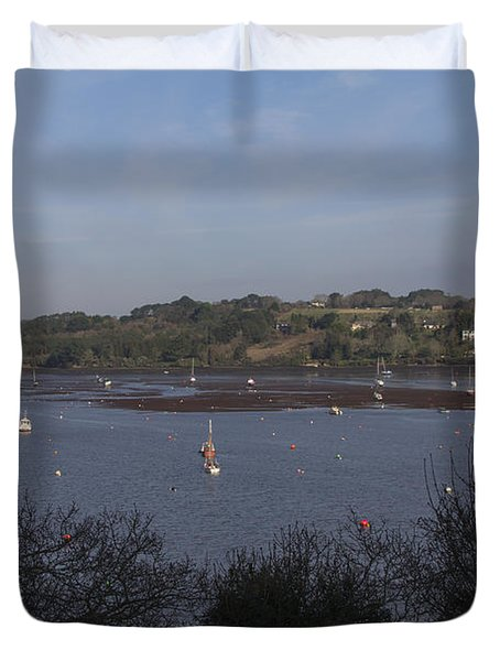 Restronguet Creek Duvet Cover