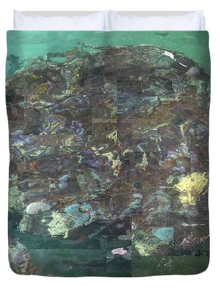Resurrection - Uss Arizona Memorial Duvet Cover