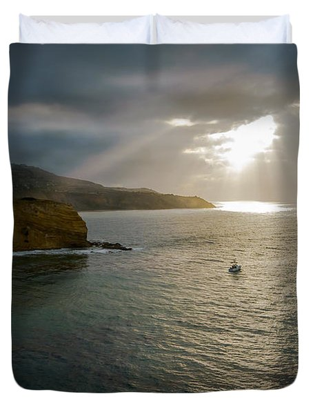 Retire Into Yourself Photography By Denise Dube Duvet Cover