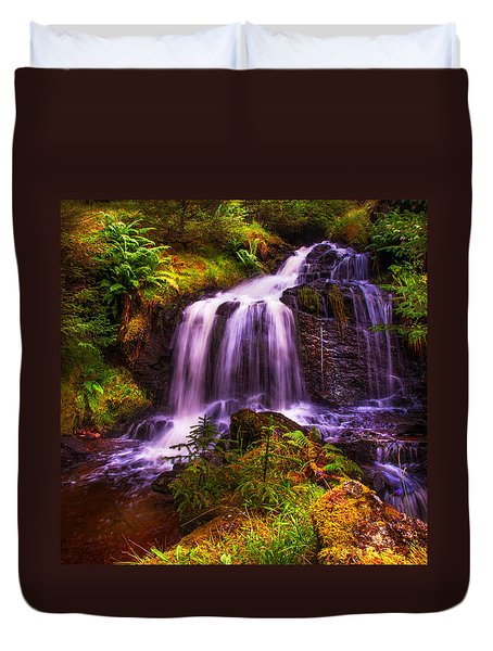 Retreat For Soul. Rest And Be Thankful. Scotland Duvet Cover