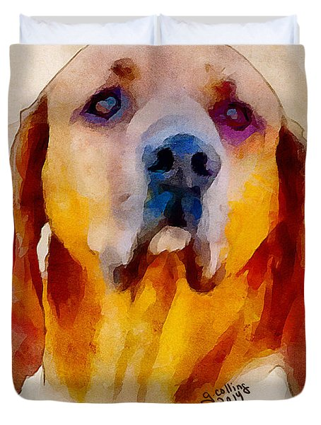 Retriever Duvet Cover