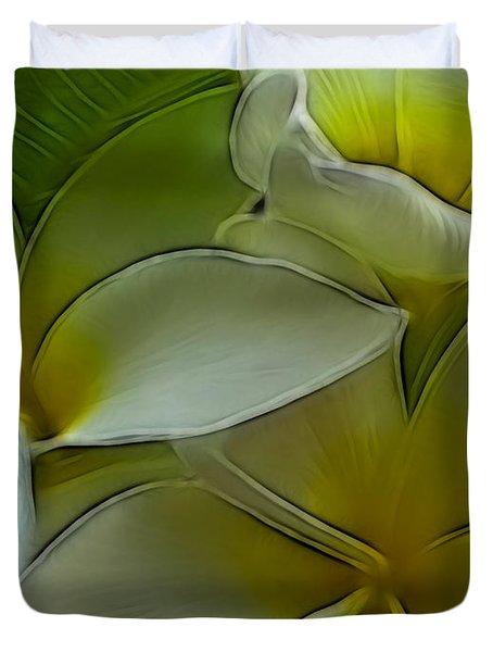 Retro Bloom Duvet Cover