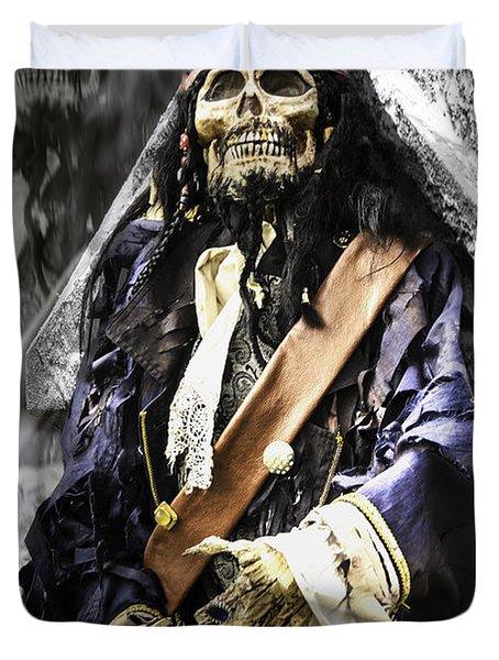 Return Of The Pirate Duvet Cover by LeeAnn McLaneGoetz McLaneGoetzStudioLLCcom