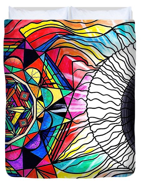 Return To Source Duvet Cover by Teal Eye  Print Store