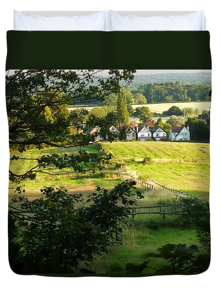 Returning Home Duvet Cover by Connie Handscomb