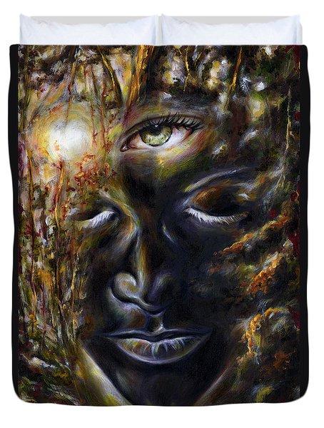 Revelation Duvet Cover by Hiroko Sakai