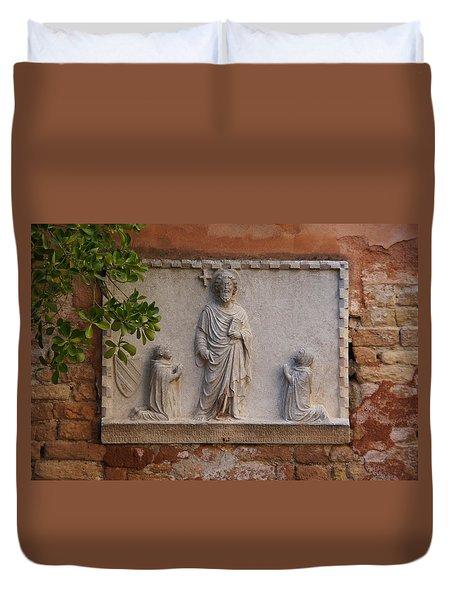 Reverence Duvet Cover