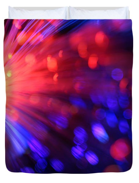 Revolution Duvet Cover by Dazzle Zazz