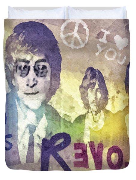Revolution Duvet Cover