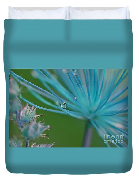 Rhapsody In Blue Duvet Cover