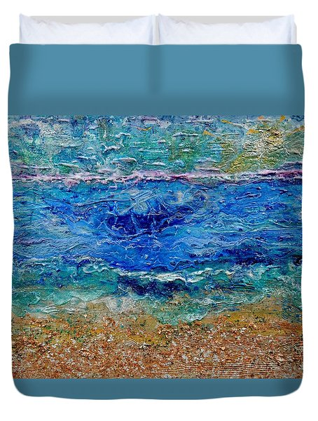 Rhapsody On The Sea  Duvet Cover